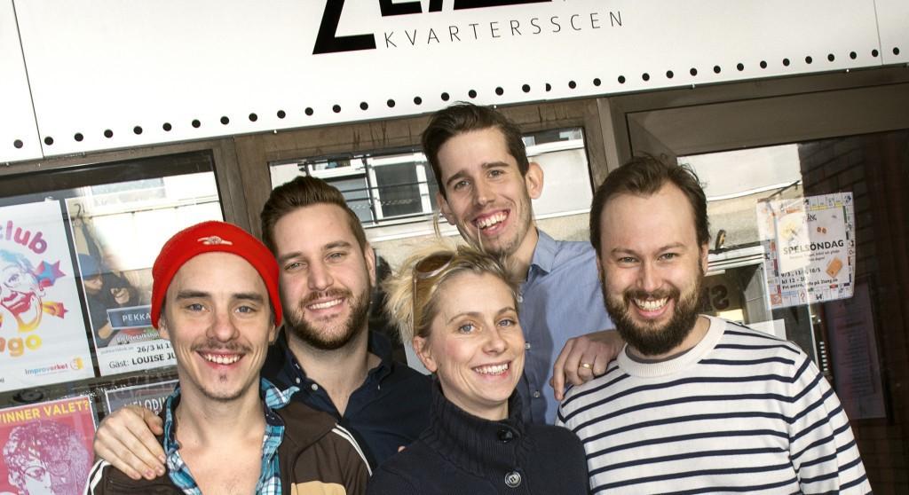 """2Lång, """"community theater"""" en av Mikrofonden Västs garantitagare"""